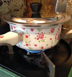 鍋オンザコンロ